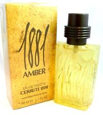 Cerruti 1881 AMBER Eau de Toilett 50ML Spray Mens