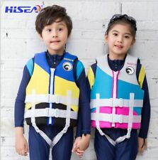 Kids Life Vest Neoprene Floating Life Jacket Children Youth Swimming waist coat