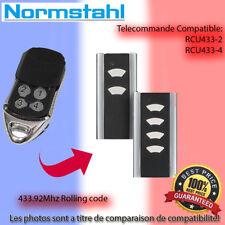 NORMSTAHL RCU 433-4 Le remplacement de la télécommande 433.92MHz