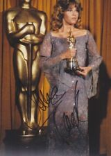JANE FONDA Foto 20x27 8x10 signed signiert IN PERSON Autogramm autograph