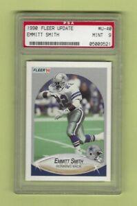 1990 EMMITT SMITH Fleer Update #U-40 Dallas Cowboys PSA 9 MINT * LOWEST ON EBAY!