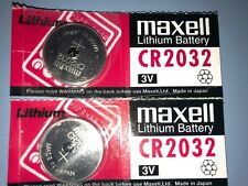 Maxell Lithium Battery CR2032 3 Volt