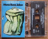 CAT STEVENS - MONA BONE JAKON (ISLAND 54409) 1990s ITALY CASSETTE REISSUE EX!