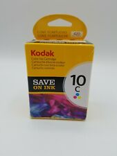*NEW* Kodak 10C COLOR Ink Cartridge Prints 420 pages FAST FREE SHIPPING SEALED