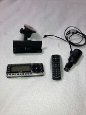 Sirius St4 Starmate 4 Xm Satellite radio receiver W/ Dock, Remote Lifetime Sub