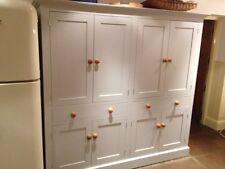 Handmade bespoke shaker Double kitchen larder unit cupboard (free delivery)