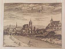 LA BELGIQUE,BÉLGICA, L'abbaye Saint-Pierre de Lobbes,d'Harrewyn, 1711.
