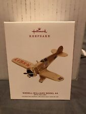 Wedell-Williams Model 44 2019 Hallmark Keepsake Ornament Sky's the Limit 23rd