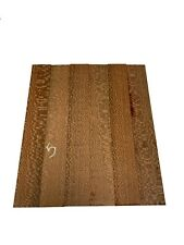 """2 PACK, LEOPARDWOOD Thin Stock Lumber Boards/Wood Crafts/Blanks 21""""x3""""x3/4"""", #05"""
