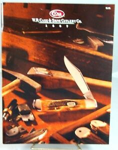WR Case & Sons Cutlery Co. 1997 Product Catalog-Copperlock Cover-Mint