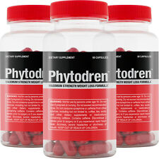PHYTODREN 3pack - Hardcore Weight Loss - Burn Fat - Boost Energy Levels