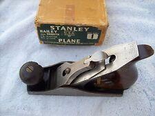 VTG STANLEY NO 1 PLANE WITH BOX ALL ORIGINAL