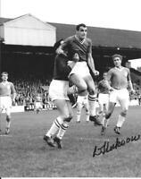 DAVE HICKSON RARE SIGNED 10 X 8 PHOTO - Liverpool & Everton