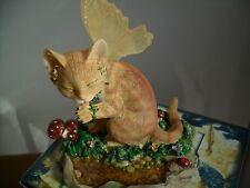 Faerie  Glen Faerie Tails Fairy Cat Figurine Buttercup Boxed