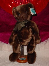 BEARINGTON COLLECTION **CHOCOLATE ** STYLE 1266M ** 17 INCH TALL ** WITH STAND**