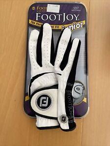 Footjoy FJ JUNIOR Golf Glove NEW right HAND medium-large, some discoloration