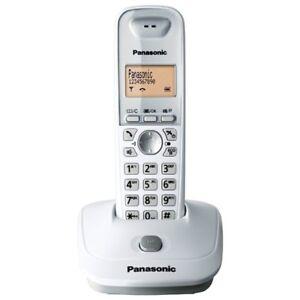 Telefono Fijo Panasonic KX-TG2511 Blanco Original Usado