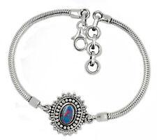 Australian Opal 925 Sterling Silver Bracelet XGB Jewelry SB16695