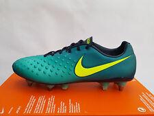 "Nike Magista Opus II SG-Pro ""Floodlights"" Rio Teal (844597 376) Size UK 7 EU 41"