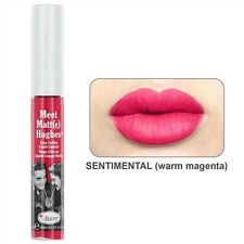 The Balm Cosmetics -Meet Matte Hughes Long Lasting Liquid Lipstick - Sentimental