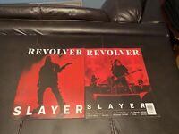 Revolver Magazine SLAYER & 1 Alternate Cover 2019 Rare Like New
