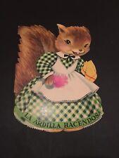 Enfantina - La Ardilla Hacendosa - Texte en espagnol - Jeunesse Vintage - E2