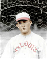 Rogers Hornsby #1 Photo 8X10 - St. Louis Cardinals COLORIZED
