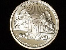 1 Oz Mason Mint Heritage Proof-Like Silver Round (.999 Pure)-In Stock