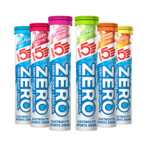 High5 Zero Electrolyte - All Flavours - ***See the Special Offer on 4 Tubes***