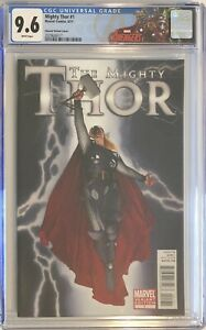 The MIGHTY THOR #1 Charest Variant CGC 9.6 Rare Marvel Comic SEE NEW CGC LABEL