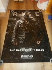 THE DARK KNIGHT RISES - ORIGINAL SS ROLLED ADVANCE POSTER - BANE - 2012