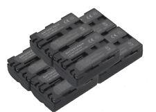 New 6x NP-FM500H Battery for Alpha A850 DSLR-A900 A100 A200 A300 A450 SLT-A57 Hi