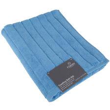 Serviettes, draps et gants de salle de bain bleu pour salle de bain