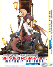Shingeki No Bahamut Manaria Friends Vol 1-10 End Anime DVD