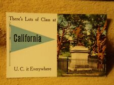 Vintage Postcard There's Lots Of Class At California, University Of California