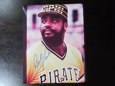 Dave Parker Autograph / Signed 8 x 10 photo Pittsburgh Pirates