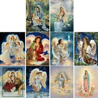 DIY Full Drill Angel 5D Diamond Painting Embroidery Cross Stitch Kit Home Decor