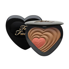 TOO FACED Soul Mates CARRIE & BIG Blush & Bronzer Heart Duo NEW Free Shipping