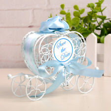 1pc New Candy Boxes Romantic Carriage Sweets Chocolate Box Wedding Party Favors