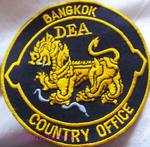 IN14777 - Patch Police Royale Bangkok Dea Country Office - Thailand