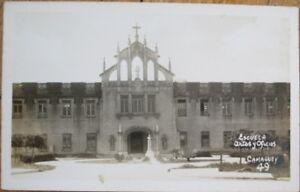 Camaguey, Cuba 1930s Realphoto Postcard: Escuela Artes y Oficios - Camagüey