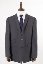 Men's Grey Suit Tailored Fit Gibson 46R W40 L31
