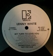 Lenny White LP My Turn to Love You Promo Promotional Copy 1983 Elektra records