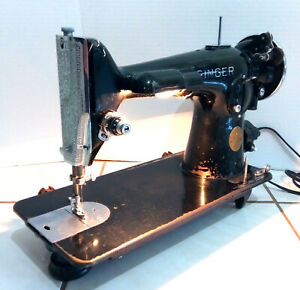 Vintage 1939 Singer Model 201 Sewing Machine, Working Condition