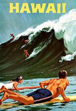 L'ARTE Annuncio Hawaii Surf Travel Poster stampati