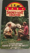 Baby: Secret Of The Lost Legend Rare Family Dinosaur Adventure VHS 1985 OOP HTF