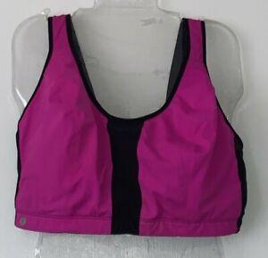 Livi Active Pink/Black Lounge/Sports Bra, Women's Size 44G, Excellent Shape
