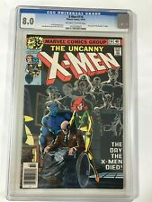 X-MEN # 114 CGC 8.0 - First use of Uncanny in Name  -