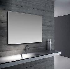 Specchio moderno a parete personalizzato su misura cornice esterna in alluminio