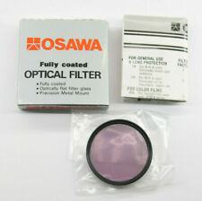 Osawa 49mm Color Optical Lens Filter FL-W with Box - New Old Stock - C982